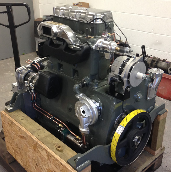 Gardner 3lw engine 014