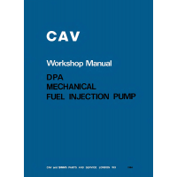 cav_dpa_fuel_injection_pump_workshop_manual_pub_no_2124_cover