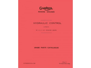 2 & 3UC Hydraulic Control Parts Manual
