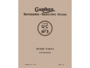 3UC Reversing Gearbox Parts Manual