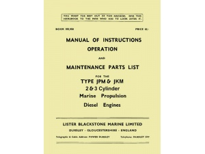 JP, JK 2&3 Marine Propulsion Manual